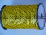 Závěsná šňůra 6 mm s jádrem PPV, 24 pr, 1m