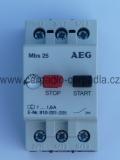 motorový spouštěč MBS25 2,5-4,0 A jistič AEG