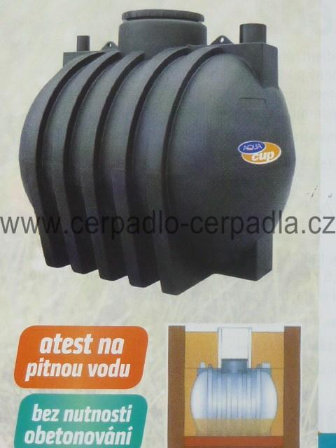 Podzemní nádrže a odpadní jímky HORIZONTÁLNÍ HZ 1500 (Podzemní nádrže a odpadní jímky HZ)
