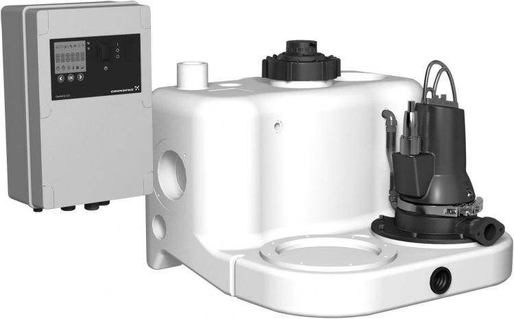 Grundfos Multilift MSS.11.3.2 čerpací stanice 400V, 97901027 (Multilift MSS.11.3.2, čerpací jímky)