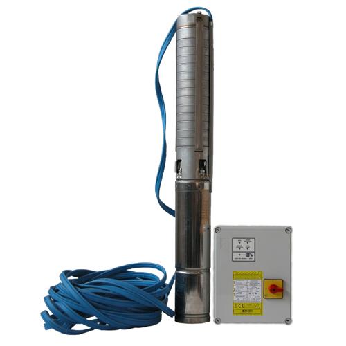 """STAIRS SP-1013 4"""" 400V, 20m kabel, čerpadlo+QMD10/3,7 (ponorná čerpadla STAIRS SP-1013 4'')"""