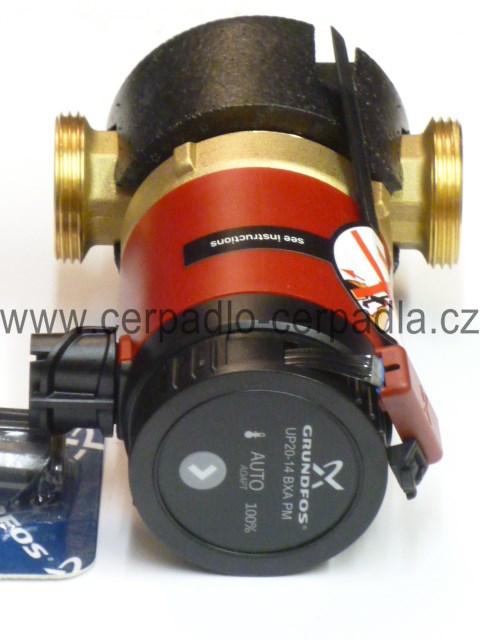 Grundfos COMFORT UP 20-14 BX PM, nemá AUTOADAPT, cirkulační čerpadlo, 97916772 (cirkulační čerpadla Grundfos COMFORT UP 20-14 BX PM)