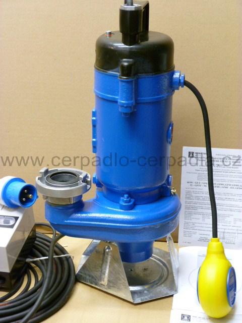 50-GFHU-105-70-LN MH 230V s plovákem, kalové čerpadlo, kalová čerpadla, Sigma (čerpadlo provedení MH, GFHU-00001)