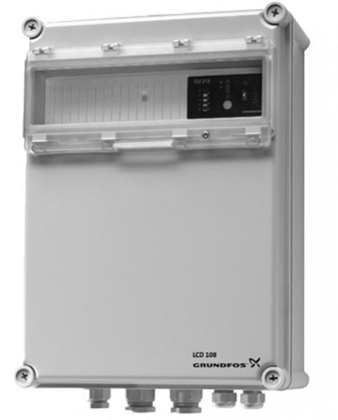 Grundfos LCD 108.400.3.5 řídící jednotka pro dvě čerpadla SEG, 96841942 (pro kalové čerpadlo, kalová čerpadla, Grundfos LCD)