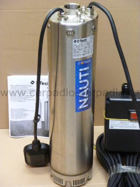 ponorné čerpadlo PUMPA VN 5/7F 1,5kW 230V s plovákem (ponorná čerpadla VN 5/7F)