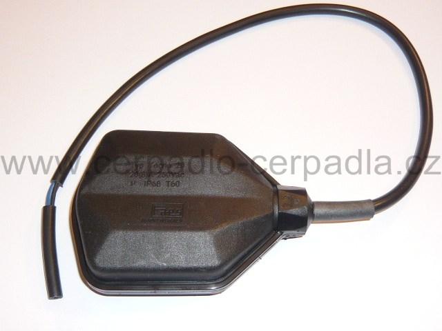 Plovákový spínač PVC , 20m kabel, plovák (Plovákový spínač PVC, plovák)