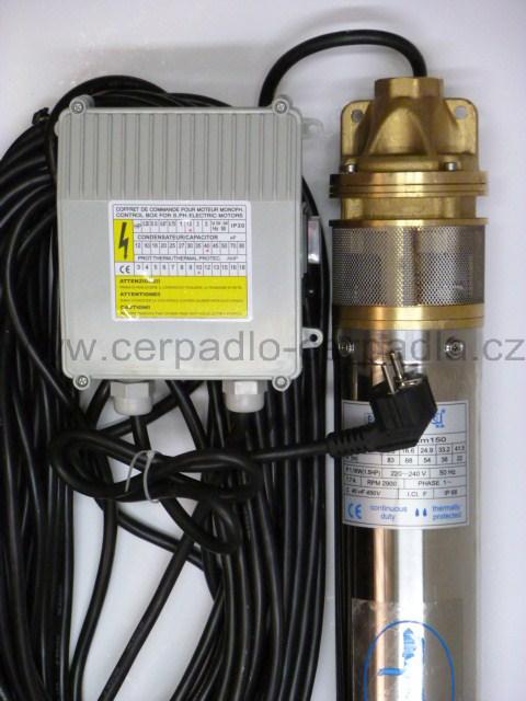 Ponorné čerpadlo do vrtu BLUE LINE 4 SKM 100 20m kabel CECA0295 (DOPRAVA ZDARMA, ponorná čerpadla SKM 100)