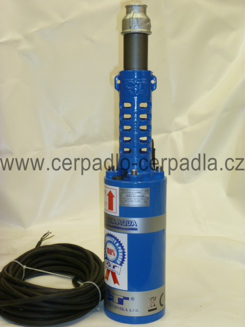 """UNIQUA AQUA T60-56 VM 5"""", 1m kabel, čerpadlo (AKCE DOPRAVA ZDARMA, ponorná vřetenová čerpadla, čerpadlo do studny)"""