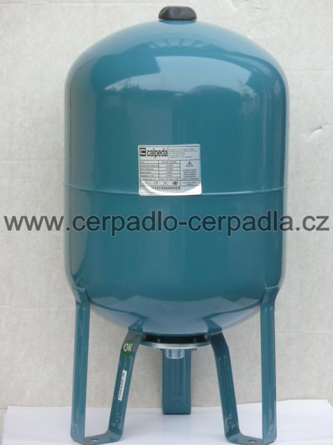 Pumpa SM 300/10 vertikální tlaková nádoba 300l 10bar, 5/4'' (tlakové nádoby s pryžovým vakem, Pumpa SM 300/10)