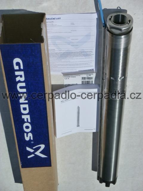 GRUNDFOS SQ 2-70, 50m (kabel, čerpadlo 230V, DOPRAVA ZDARMA, ponorná čerpadla GRUNDFOS SQ 2-70, čerpadlo do vrtu)