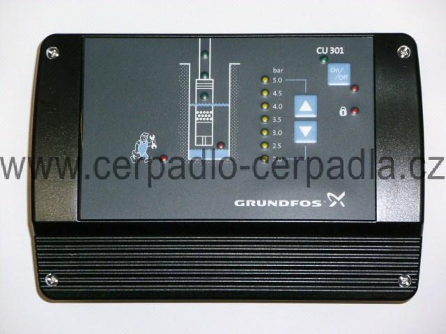 řídící jednotka CU 301, GRUNDFOS SQE 3-65 (pro ponorná čerpadla GRUNDFOS SQE 2-55, SQE 3-65, SQE 2-85, SQE 2-70...)