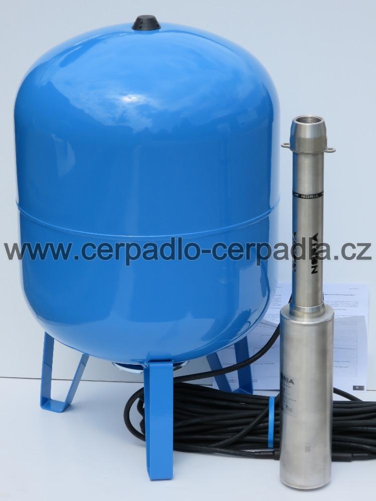 NORIA ADA COOL, 25m kabel, čerpadlo a 80 nádoba (ponorná vřetenová čerpadla ADA COOL 400V, NOR