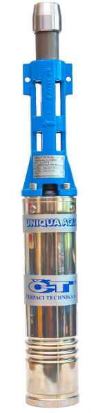 """UNIQUA AQUA T95-36 M2007 4"""" kabel 25m (400V, vřetenové čerpadlo UNIQUA AQUA T95-36 M2007 4"""" AKCE DOPRAVA ZDARMA, ponorná čerpadla)"""