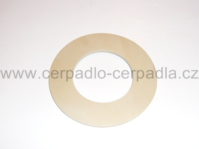 Pryžové těsnění guma 44x58x2 mm, pro zpětné klapky D-63, úzké (těsnění guma 44x58x2 mm, pro zpětné klapky D-63, úzké, SVA)