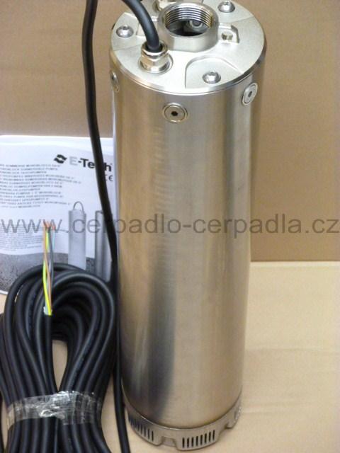 E-tech VN 9/6T 2,2kW 400V (čerpadlo bez plováku, DOPRAVA ZDARMA, ponorná čerpadla nauti VN 9/6)