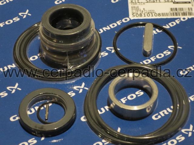 GRUNDFOS CLM-125-241-7,5 A-F-A-BBUE, mechanická ucpávka, BBUE CLM100/125 (sada ucpávky BBUE CLM100/125 č.GD07252, pro čerpadla GRUNDFOS CLM-125-241 - 7,5 A-F-A-BBUE)