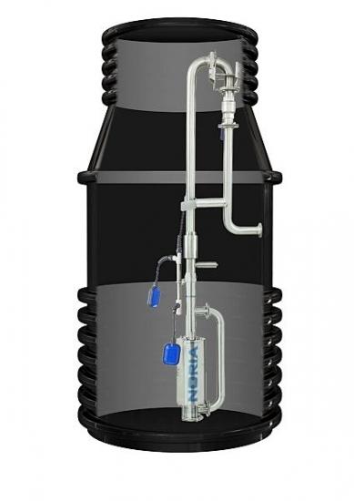 Tlakan P4-N3-GSP, 400V, 15m, kanalizační šachta, 924315 (čerpadlo Tlakan P4 N3 - GSP celonerezové, NORIA, DOPRAVA ZDARMA)