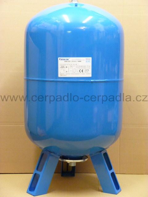 CIMM AFE CE 100l, stojatá, tlaková nádoba, 10bar, tlakové nádoby (s vakem, tlakové nádoby CIMM AFE CE 100)