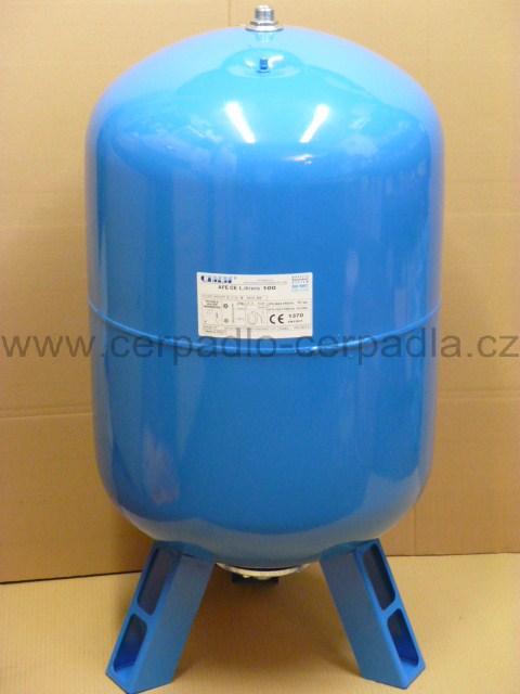 CIMM AFE CE 300l, stojatá, tlaková nádoba, 10bar, tlakové nádoby (s vakem, tlakové nádoby CIMM AFE CE 300)