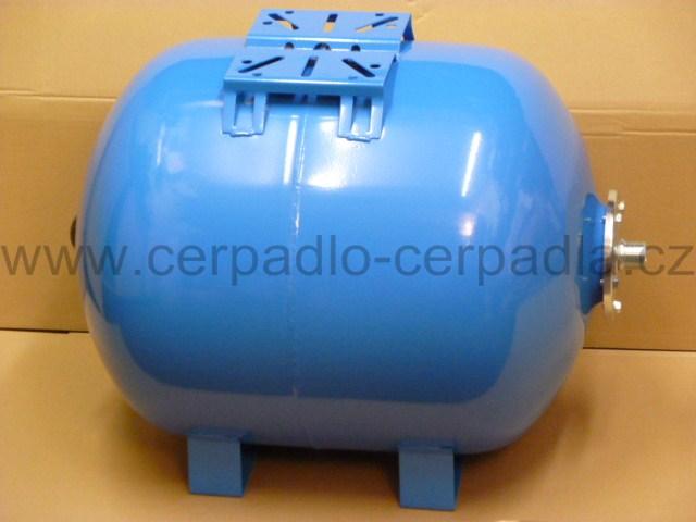tlaková nádoba CIMM AFESB CE 80l, ležatá, 10 bar (tlakové nádoby CIMM AFESB CE 80, nádrž)