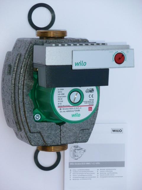 Wilo Stratos ECO 25/1-5 230V PN10 BMS, oběhové čerpadlo, 4092514 (Stratos ECO 25/1-5 130 230V Oběhové teplovodní čerpadlo, čerpadla)