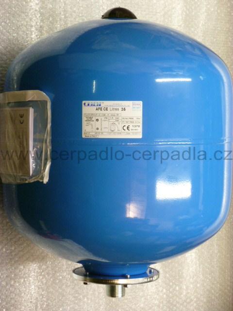 CIMM AFE CE 35l, stojatá, tlaková nádoba, 10bar, tlakové nádoby (s vakem, CIMM AFE CE 35)