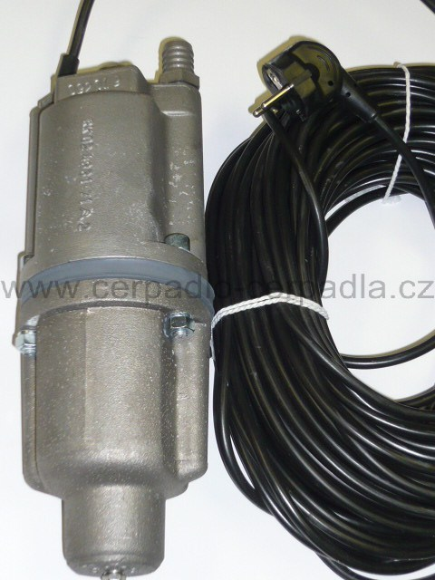 ROB-2 Čerpadlo vibrační , 10m kabel, malyš (ponorná čerpadla, ROB-2 Čerpadlo vibrační)