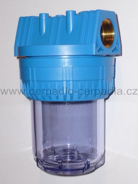 """FILTR VODA 1"""" 100 mm krátký F5"""", bez vložky, 100255 (FILTR VODA, Filtry na vodu, filtrace vody)"""