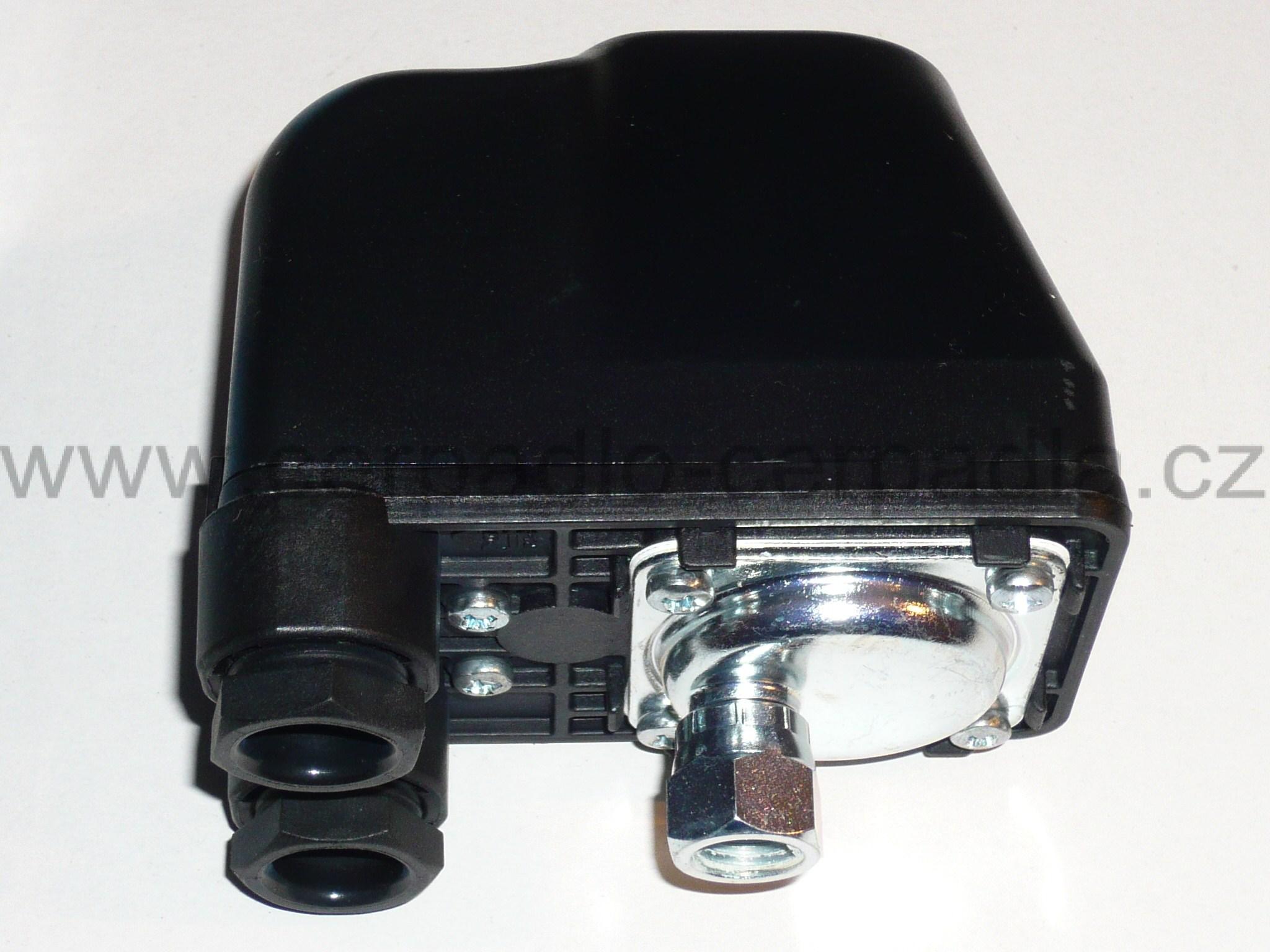 PM/5G 230V 2,0-3,5 bar, tlakový spínač PM 5 (tlakový spínač PM 5G 230V, tlakové spínače pro domácí vodárny)