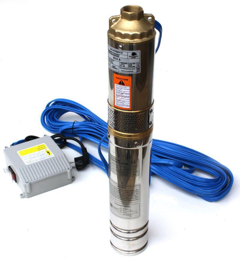 čerpadlo 4EVJ 1,2-100-0,75, 35m kabel, 230V, Kopro (ponorná čerpadla, čerpadlo 4EVJ 1,2-100-0,75)