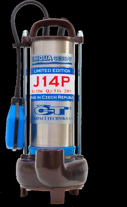 CESSPIT J14P s plovákem (230V, AKCE DOPRAVA ZDARMA, kalová čerpadla, CESSPIT J14P)