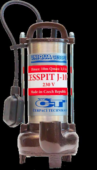 UNIQUA CESSPIT J10P 230V s plovákem (AKCE DOPRAVA ZDARMA, kalová čerpadla, CESSPIT J10P)