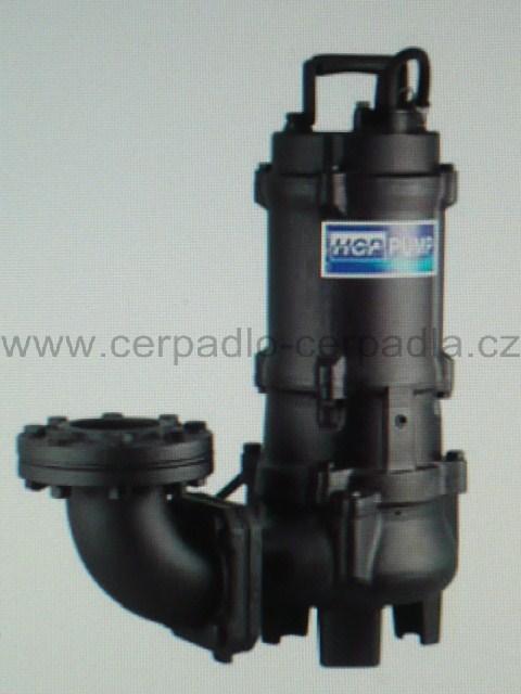 kalové čerpadlo 80AFU23,7A WD (400V, kalová čerpadla, 80AFU23,7A WD, kalové čerpadlo)