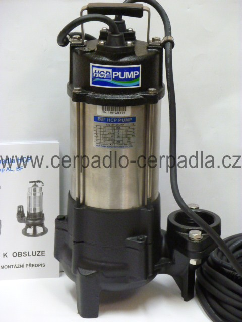 HCP kalové čerpadlo BF-05UN 400V (kalová čerpadla BF-05UN, HCP)