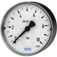 Manometr průměr 63mm, M12x1,5 zadní vývod, 0-10 bar (Manometr průměr 63mm, 0-10 bar, M12x1,5 zadní)