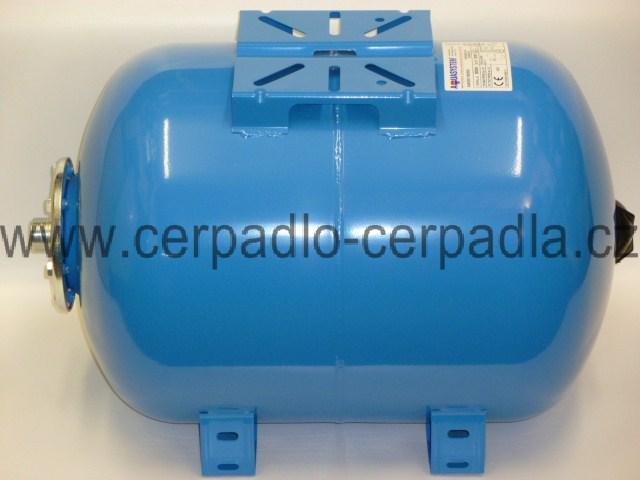 tlaková nádoba AQUASYSTEM VAO 35, ležatá (tlakové nádoby, AQUASYSTEM VAO 35, nádrž na vodu, pro domácí vodárny)