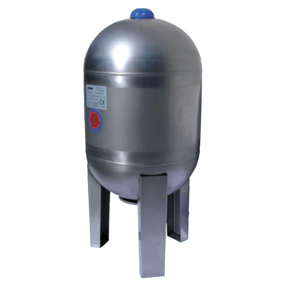 JOVAL VIM 50 (nerezová stojatá tlaková nádoba 8bar, DOPRAVA ZDARMA, tlakové nádoby JOVAL VIM 50 s vakem)