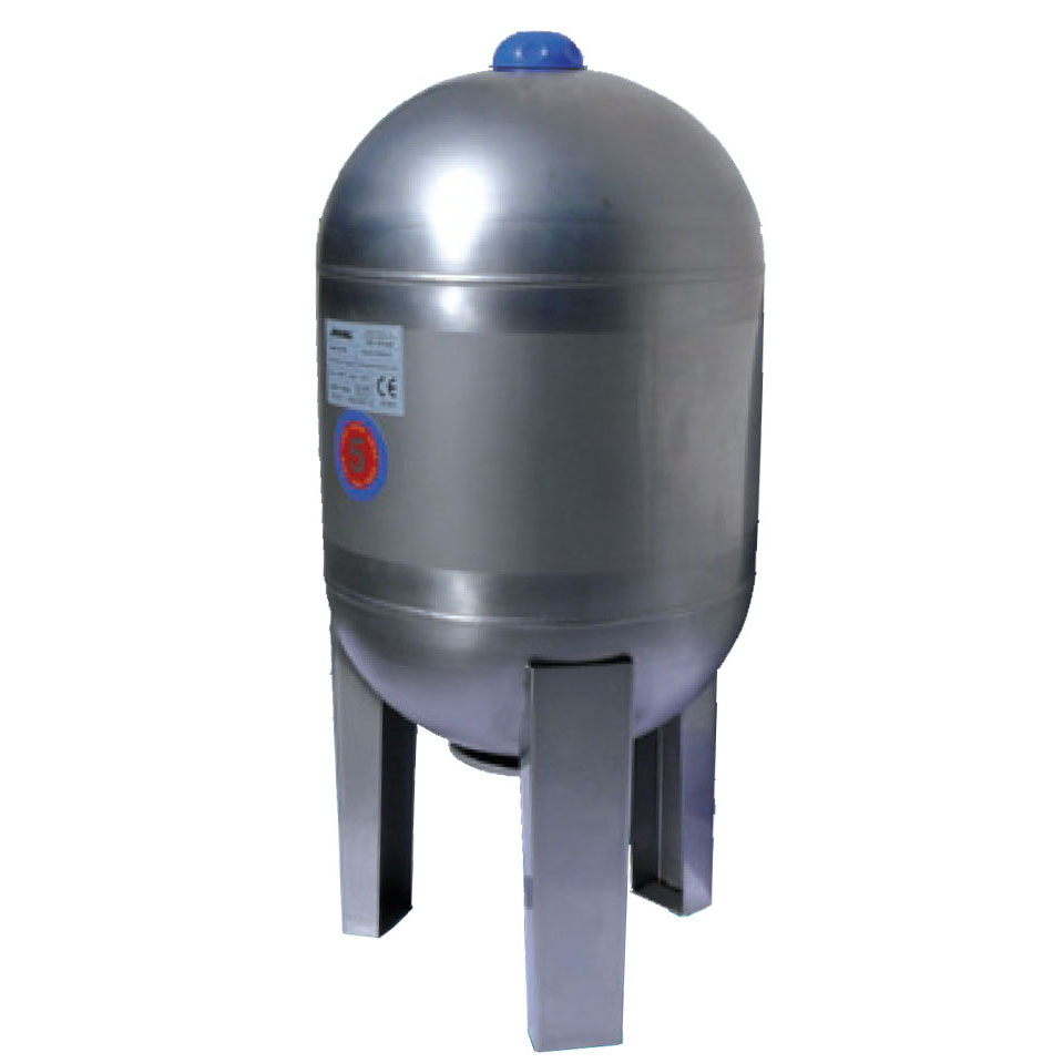 JOVAL VIM 100 (nerezová stojatá tlaková nádoba 8bar, s vakem, AKCE DOPRAVA ZDARMA, tlakové nádoby JOVAL VIM 100 bez manometru)