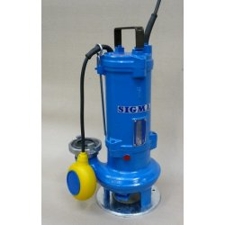 SIGMA 50-GFSU (MH) 230V s plovákem (AKCE DOPRAVA ZDARMA, kalová čerpadla, SIGMA 50-GFSU)