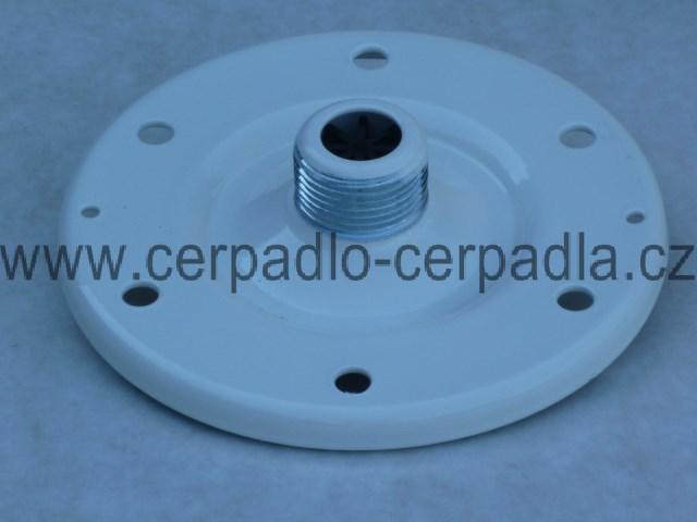 """příruba 1"""" DUKLA, tlaková nádoba AQUAMAT H 50/10, bílá, pro tlakové nádoby (pro aquamat V vertikální objem 24,33,50,60,80,100,150,200 litrů i pro H horizontální)"""