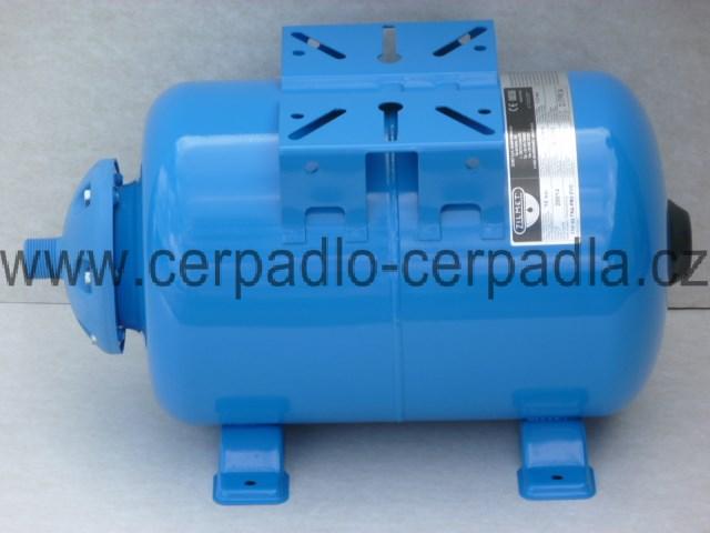 ZILMET ULTRA-PRO 50 L, tlaková nádoba, horizontální (s vakem, ZILMET 50 litrů, nádrž pro domácí vodárny)