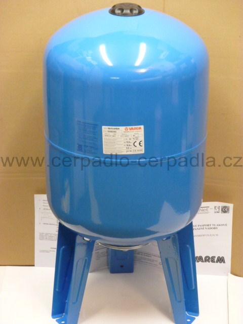 Maxivarem LS 50, tlaková nádoba, Vertikální PP (tlakové nádoby VAREM LS 50)