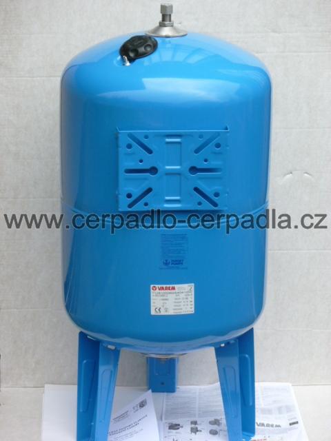 Maxivarem LS 100 CE, tlaková nádoba, Vertikální PP (DOPRAVA ZDARMA, tlakové nádoby VAREM LS 100)