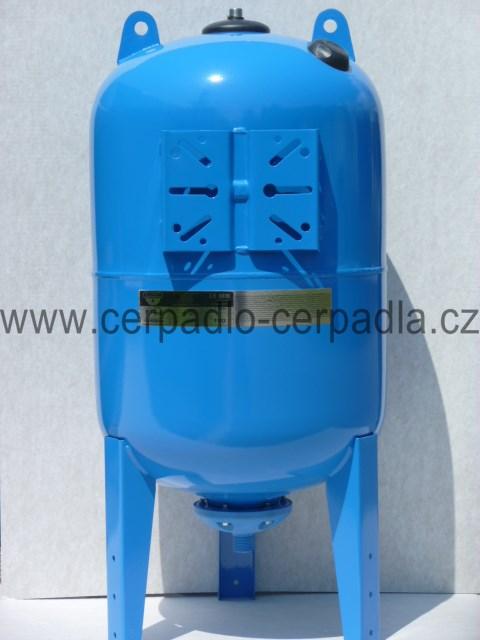 ZILMET ULTRA-PRO 100 L , tlaková nádoba vertikální, vodárenská (tlakové nádoby ZILMET 100, nádrž pro domácí vodárny)