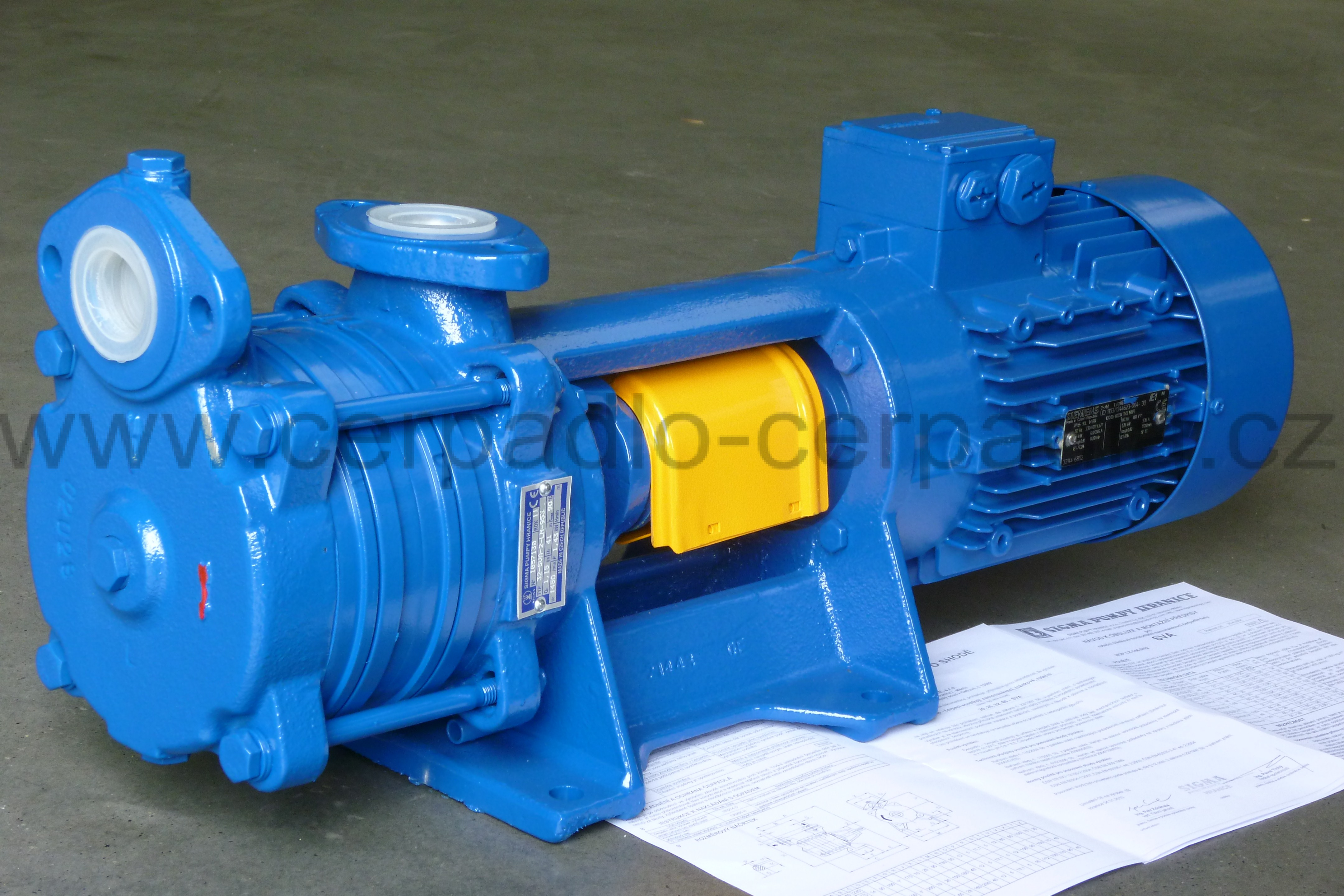Čerpadlo SIGMA 32-SVA-130-10-2-LM-953, motor 1,5 kW, SVA-K00056 (32-SVA-2-LM-953)