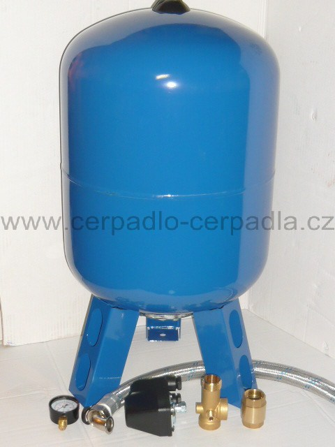AQUAMAT 150 litrů, tlaková nádoba + příslušenství, SET tlakové nádoby (AQUAMAT 150 litrů, tlaková nádoba)