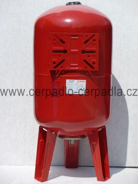 Maxivarem LS 80, NEREZ příruba, tlaková nádoba, stojatá (tlakové nádoby Varem LS 80)