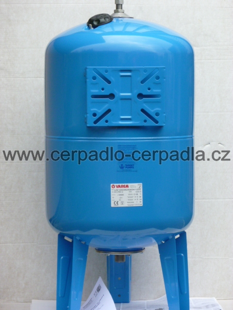 Maxivarem LS 200 vertikal, NEREZ příruba, tlaková nádoba, stojatá (tlakové nádoby varem LS 200)