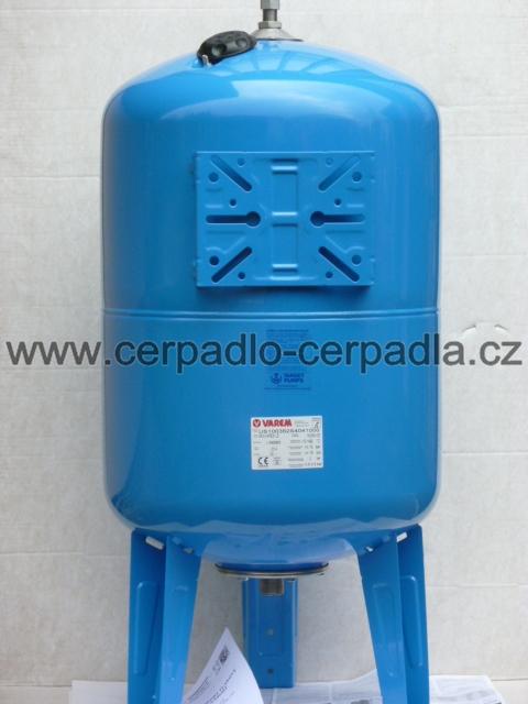 Maxivarem LS 750, NEREZ příruba, tlaková nádoba, stojatá (Varem LS 750)