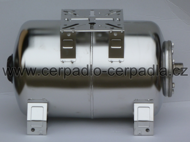INOXVAREM LS 200 litrů NEREZ horizontální tlaková nádoba (INOXVAREM LS 200 litrů NEREZ tlaková nádoba)